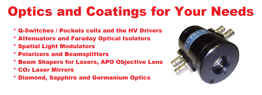 Optics and Coatings 1908