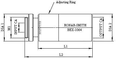 Beam Expander Mounting Diagram